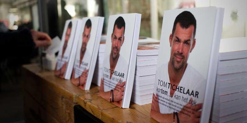 Kortom, zo kan het ook , de lancering van Toms' eerste boek