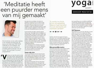 Tom Tichelaar Yoga Magazine