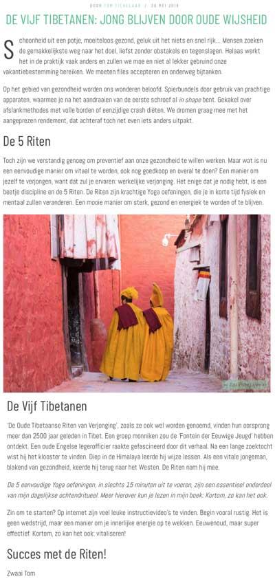 Vijf Tibetanen EatPureLove Blog